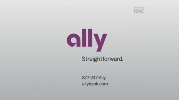 "Ally tv ad ""Pony"" - final frame"